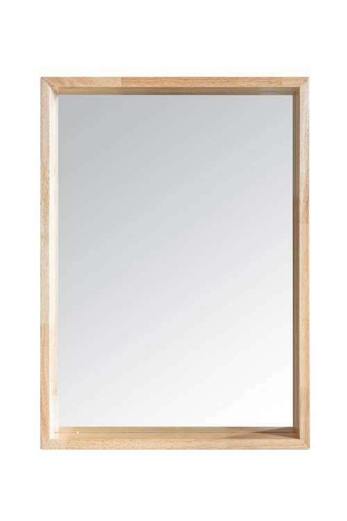 SELVA WOOD FRAME RECTANGLE MIRROR : WM003